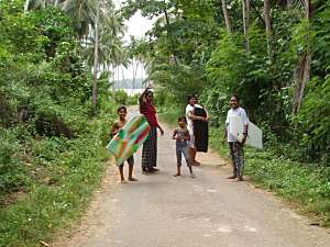 Premlanka Hotel, Lane to Dickwella Beach